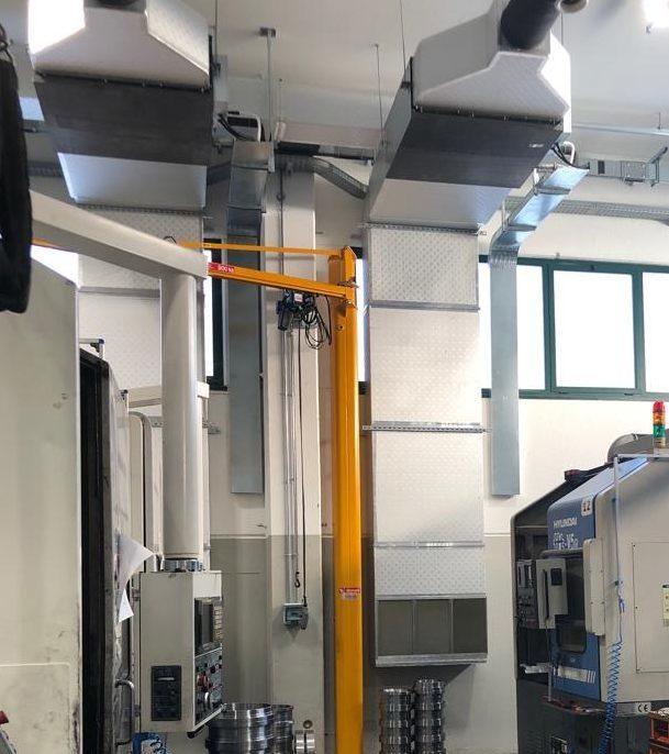 Impianto di condizionamento SGB meccanica