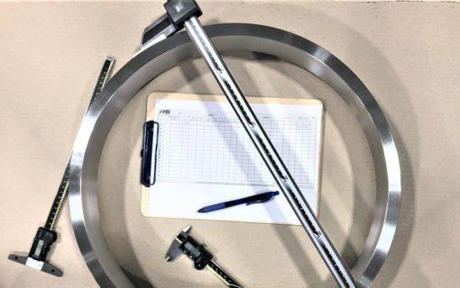 Report dimensionali controllo qualità SGB meccanica
